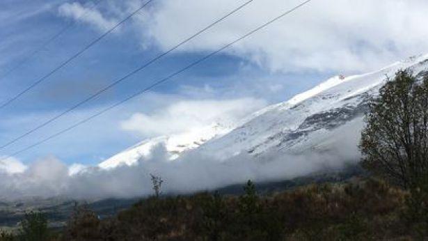 Neve sui monti d'Abruzzo