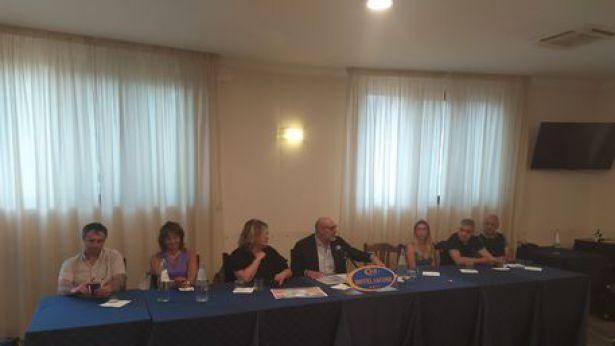 Il Sindaco Di Primio in conferenza stampa