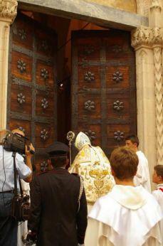 L'apertura della Porta Santa