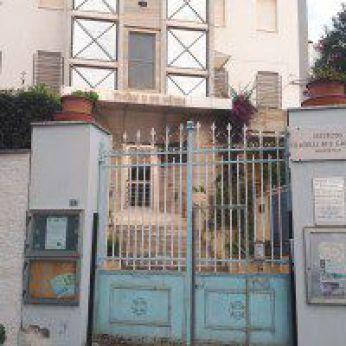 L'ingresso dell'Istituto San Gabriele