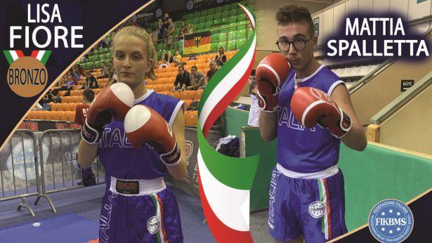 Lisa Fiore e Mattia Spalletta