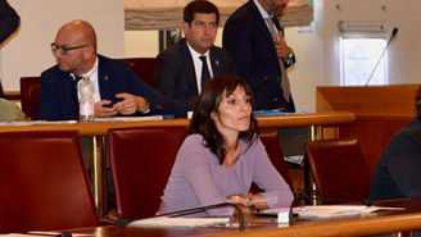 Marianna Scoccia sui banchi del Consiglio Regionale