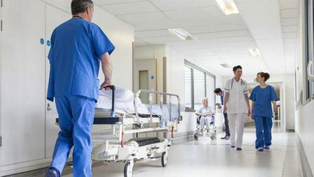 Corsia di un ospedale