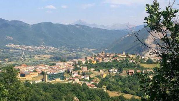 Un centro d'Abruzzo