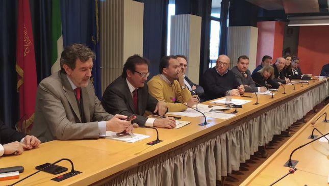 Il presidente  Marsilio incontra i sindaci