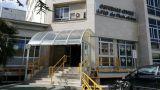 L'ingresso dell'ospedale di Vasto