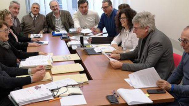 L'incontro di Schael con gli amministratori comunali