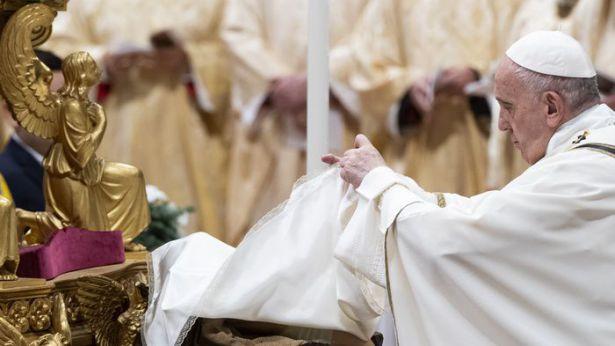 Papa Francesco celebra il Natale in San Pietro