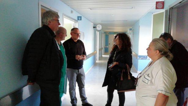 La verifica fatta oggi presso l'Ospedale di Chieti
