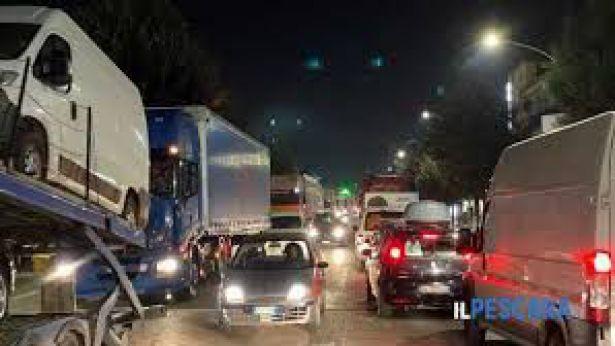 Silvi: traffico sulla SS. 16