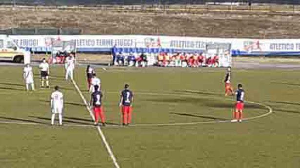 Fiuggi - Vastese 3 a 0