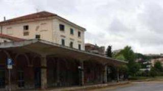 La ex stazione ferroviaria di Vasto