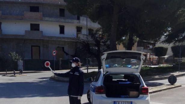 San Salvo: controlli della Polizia Locale
