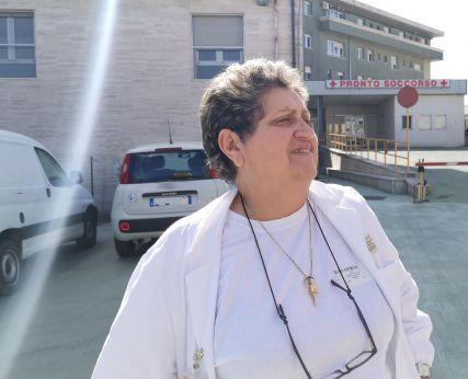 La dott.ssa Maria Pina Sciotti responsabile Malattie infettive Vasto