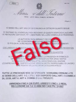 Documento falso