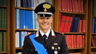 Il Ten. dei Cc Giuliano Braccia