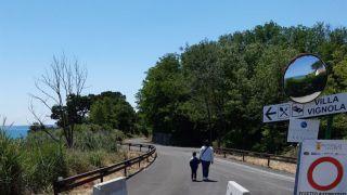 Via Verde: l'ingresso di Vignola