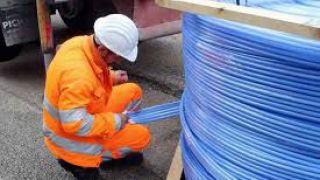 Installazione della fibra ottica