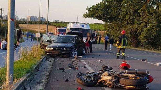 San Salvo: una immagine dell'incidente
