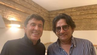 Marino Artese con Gianni Morandi