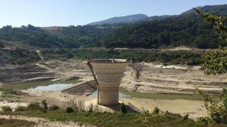 La diga di Chiauci - foto pubblicata da primopianomolise.it