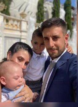 La famiglia di Marco dei Baroni Genova di Salle