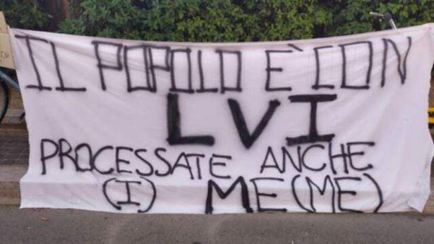 Chieti: striscione contro Salvini