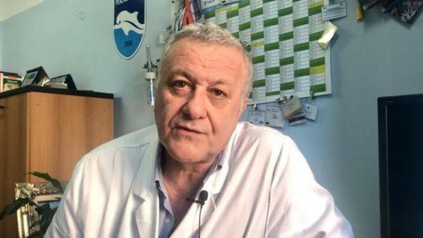Il dott.Paolo Fazii, virologo