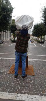"""Festa dell'albero: """"Genesi"""", opera di Giuseppe Colangelo"""
