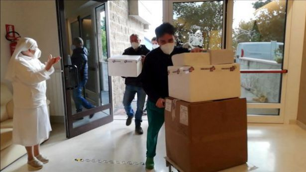 Montenero: l'arrivo dei vaccini