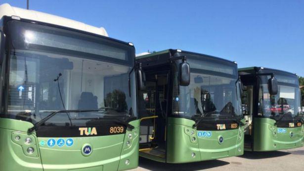 Autobus della TUA