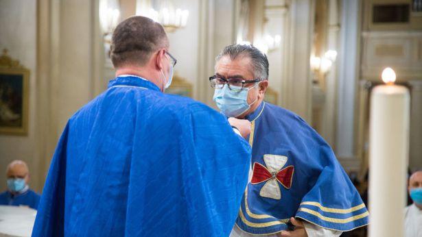 Confraternita della Sacra Spina e del Gonfalone: passaggio della mozetta da Stivaletta a Cavuoti