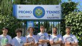 Gli atleti della Promo Tennis Vasto