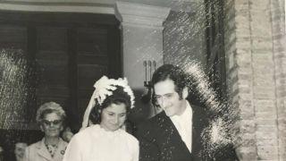 """La foto """"storica"""" del matrimonio di Ida Candeloro e Lello Forni"""