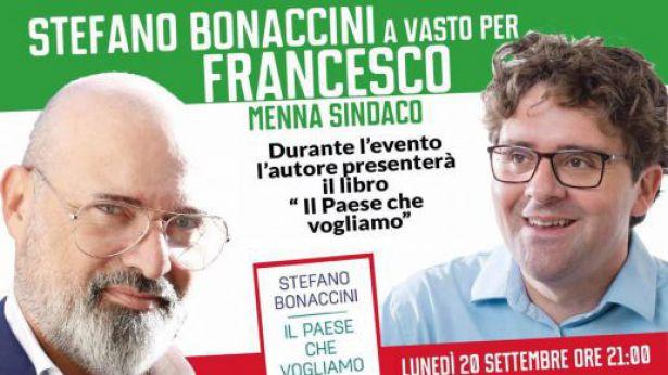 Stefano Bonaccini a Vasto