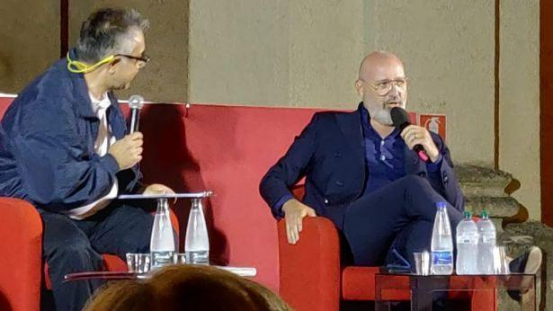 Stefano Bonaccini intervistato da Pino Cavuoti