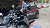 Le moto recuperate dai Carabinieri