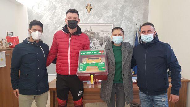 Montenero di Bisaccia: donazione defibrillatore